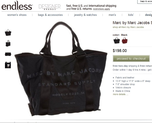 Marc by Marc Jacobs Standard Supply Tote